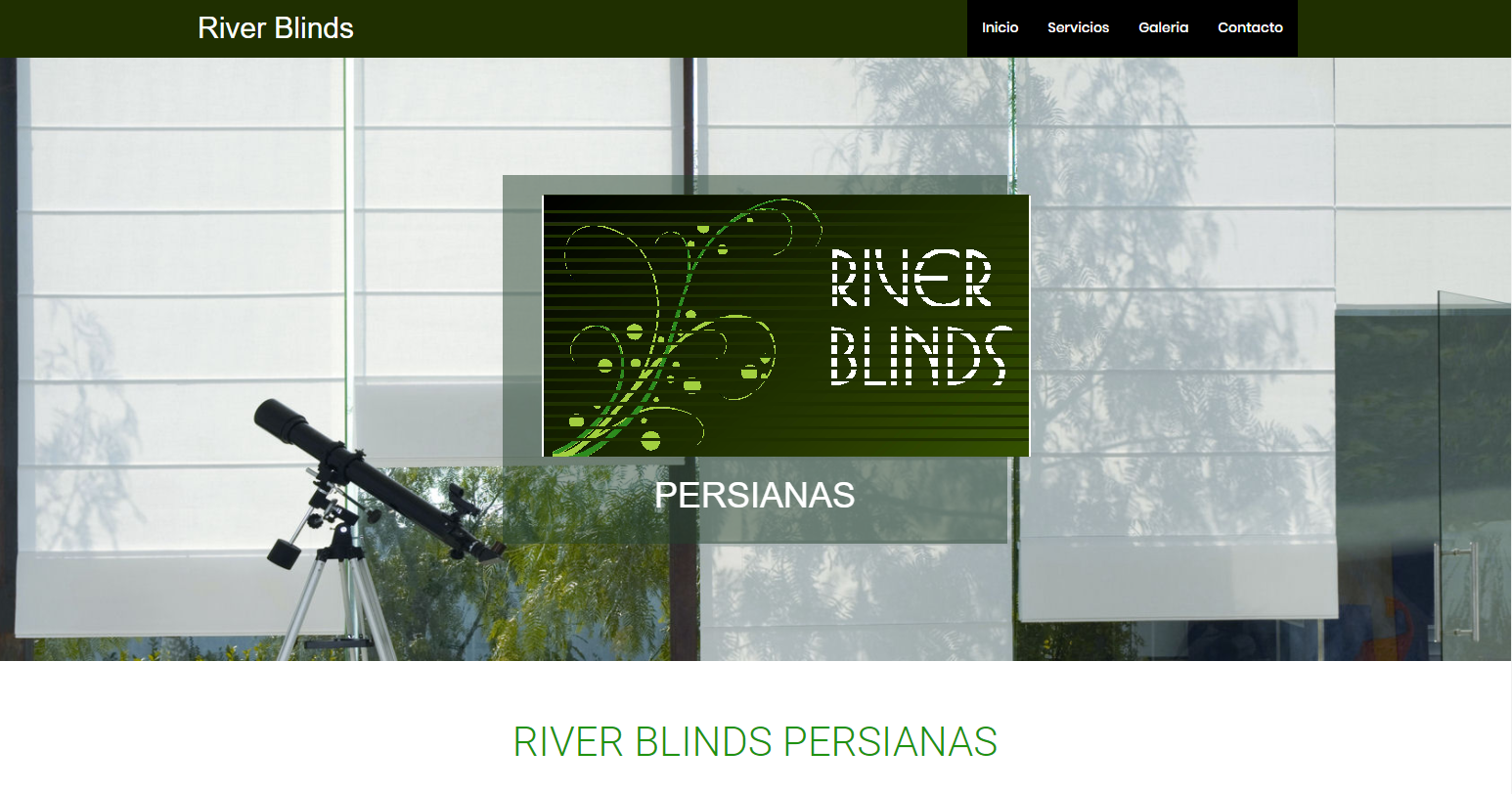 River Blinds Persionas